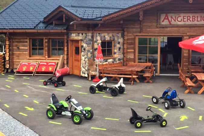 Kinderangebote bei der Angerblick-Hütte, Bad Hofgastein