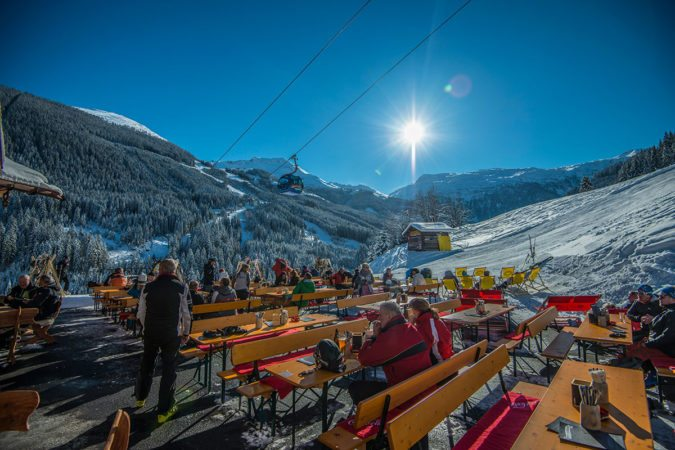 Ski-Restaurant & Après-Ski in Bad Hofgastein - Angerblick